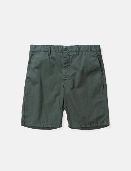 Norse Projects Aros Light Twill Shorts - Bottle Green