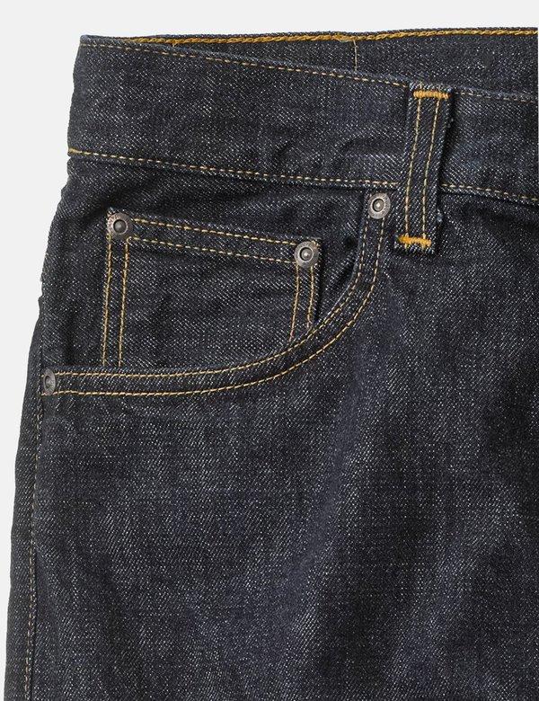 Nudie Dude Sleepy Sixteen Jeans Relaxed Straight - Rinsed
