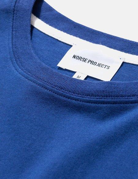 Norse Projects Niels Standard T-Shirt - Twilight Blue