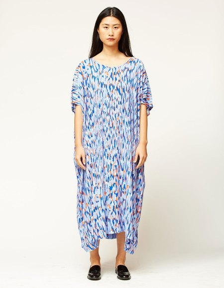 Bishop Collective Caftan - Periwinkle Abstract