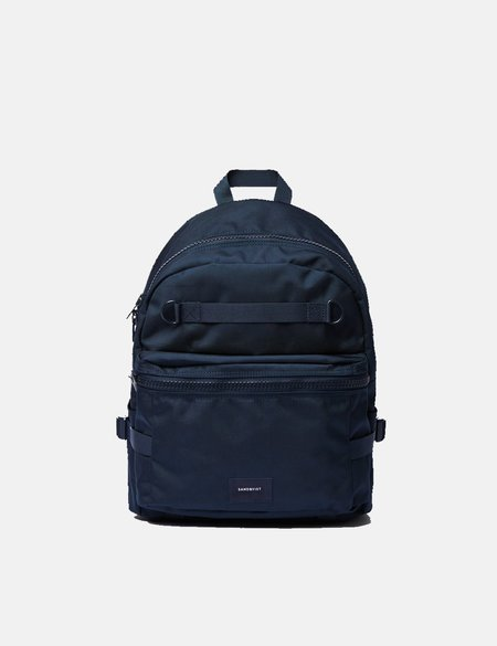 Sandqvist Elton Backpack - Navy Blue