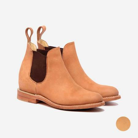 Cano Maria Chelsea Boot - Beige Suede