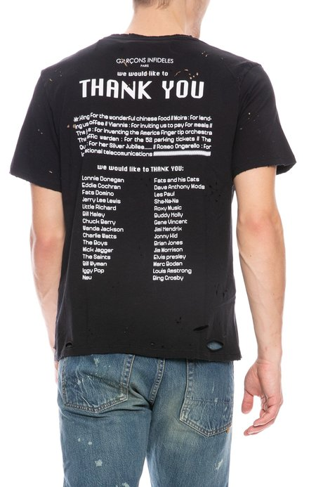 Garcons Infideles Thank You T-Shirt