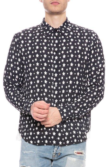 Garcons Infideles Viscose Shirt - Star Print