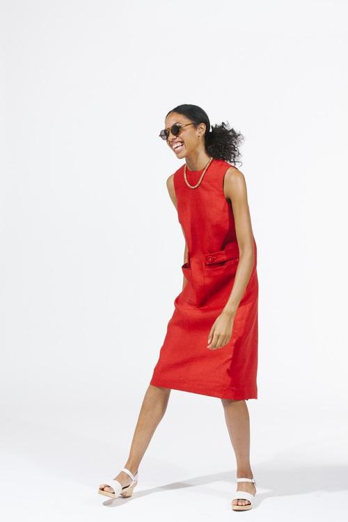 Backstroke Dress