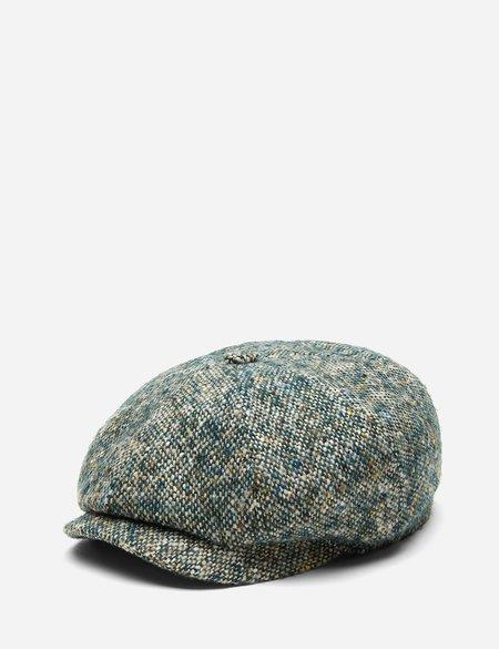 Stetson Donegal Wool Newsboy Cap - Green Mix