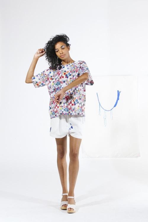 Box Top - Quilt Print