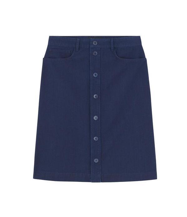 A.P.C. Therese Skirt - Indigo