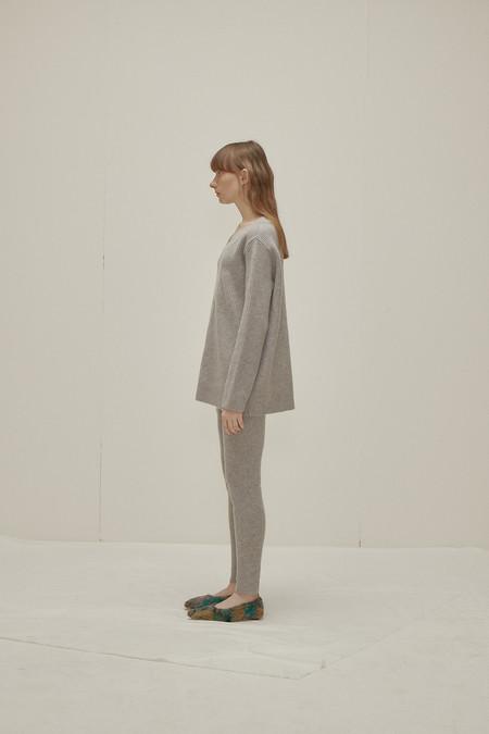 WNDERKAMMER Wool Sweater Leggings - Grey