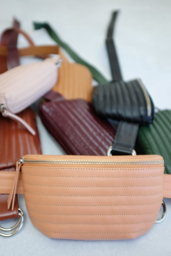 Beklina Ribbed Fanny Packs