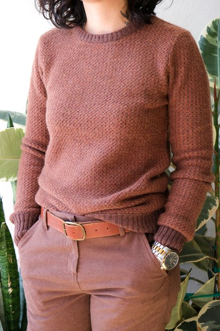 Bridge & Burn Chelan Sweater - Rust