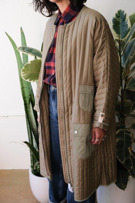 W'Menswear Space Duna Coat - Beige
