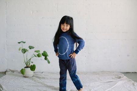 kids Little Moon Society Julian Trouser - Cobalt