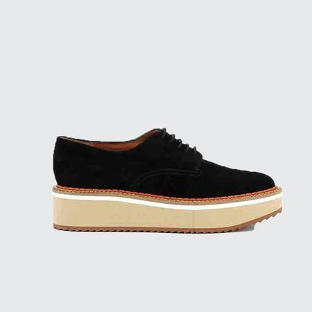 Robert Clergerie Breme Derbies - black