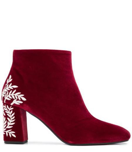 Pollini Bargogna Mid Heel Ankle Boot - Bargogna