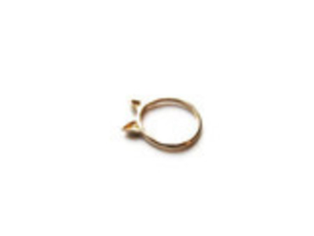 Elaine Ho Cat ring - 14K gold