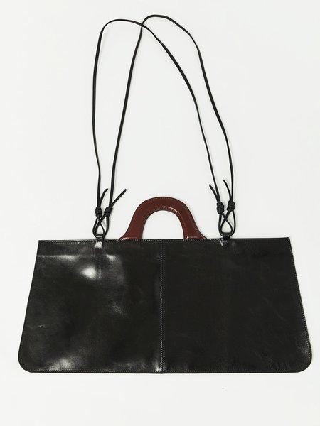 Martiniano Leather Attache - Black
