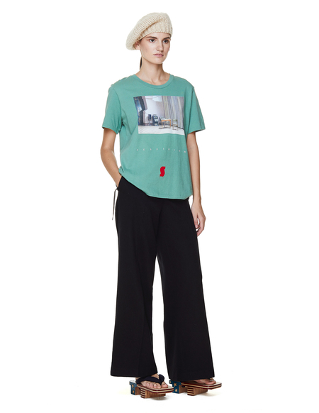 Sue Undercover Wool Trousers - Black