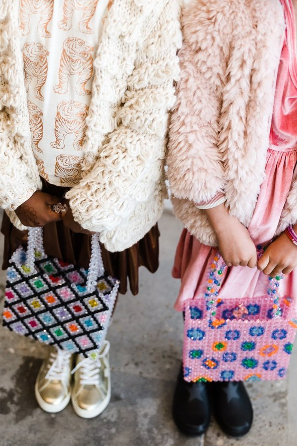 kids Pink Chicken Velvet Steph Dress - Rapture Rose