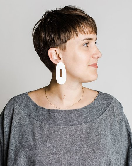 Hello Zephyr Reordering Earring