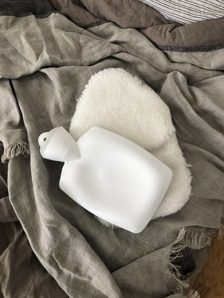 hotbottle Hot Water Bottle Sheepskin Cover