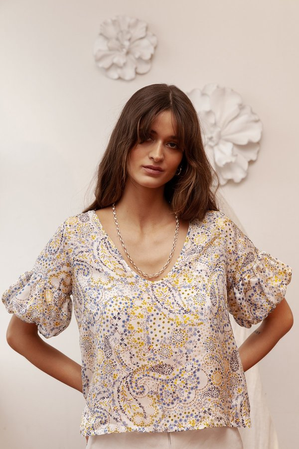 BEFORE MARCH Francis blouse - print