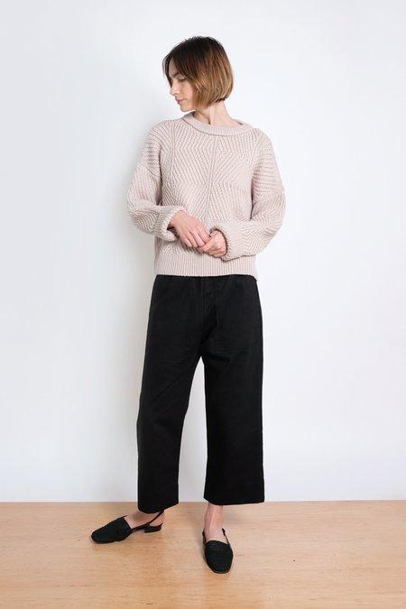 Micaela Greg Bevel Sweater - Chalk