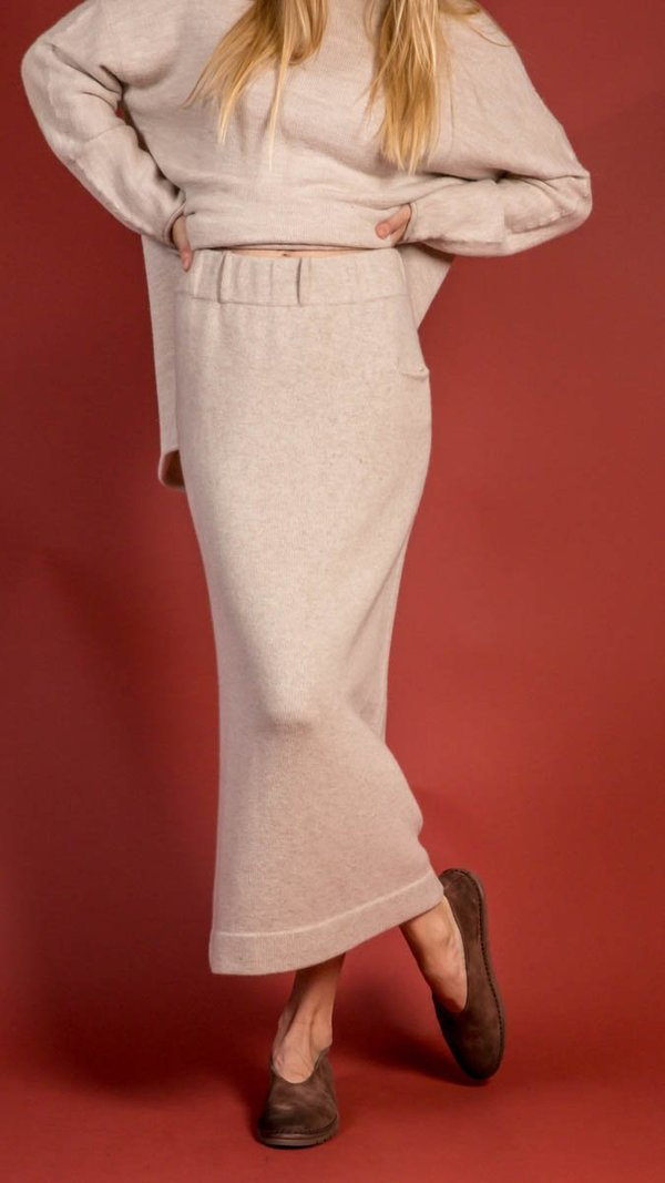 Lauren Manoogian Cashmere Tube Skirt