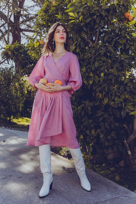 Kristinit Jade Dress - Ultra Violet