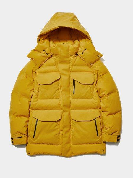 Goldwin Gore-Tex Infinium W/S Down Parka - Marron Yellow
