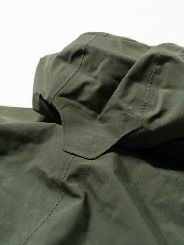 Goldwin Hooded Spur Gore-Tex Down Coat - Cypress Green