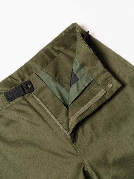 Goldwin Regular Chino Trousers - Olive Green