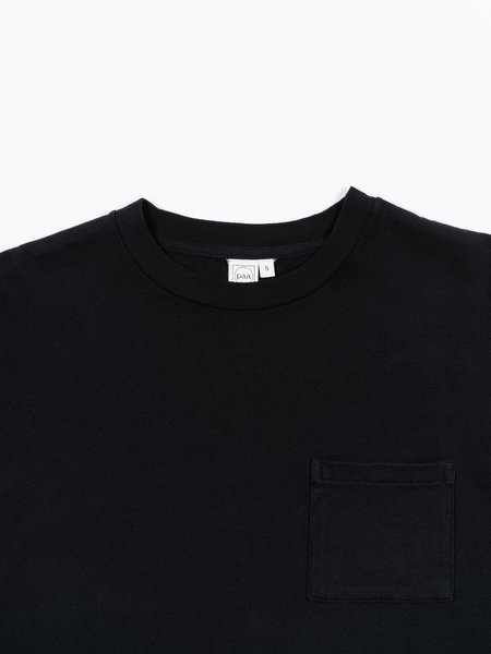 Paa SS Pocket Tee - Black
