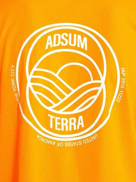 Adsum Terra Tee - Orangina
