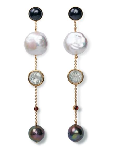 Lizzie Fortunato Bon Vivant Earrings - Gold plated