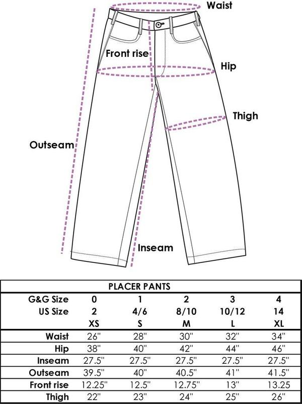 Gravel & Gold Placer Pant - Denim