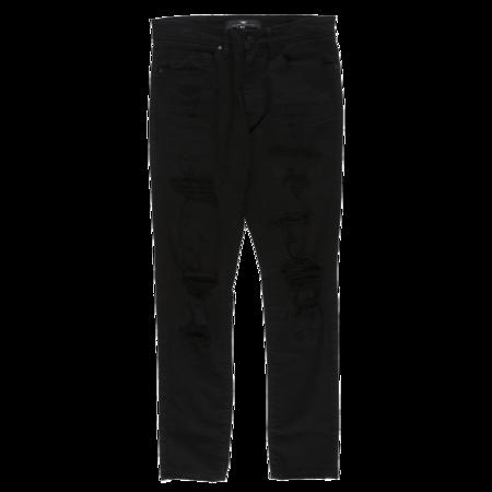Jordan Craig Skinny Denim Jeans - Jet Black