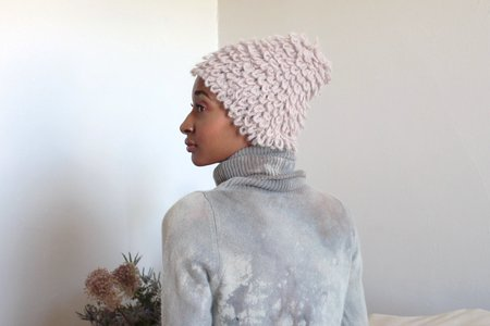 Colorant ELECTRA KNIT HAT - DUST