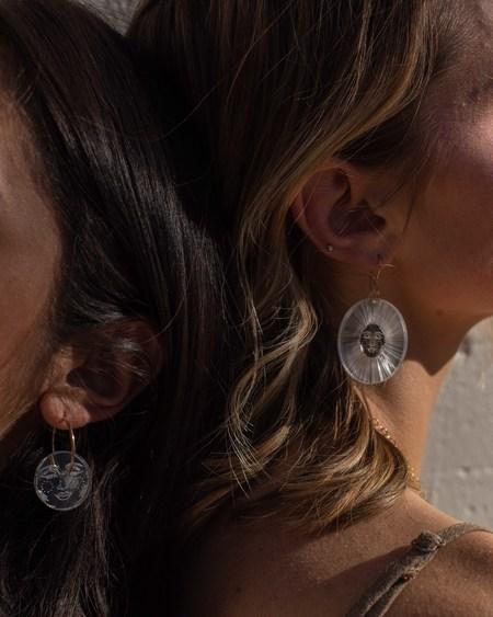 Fool's Gold Florentine Earrings