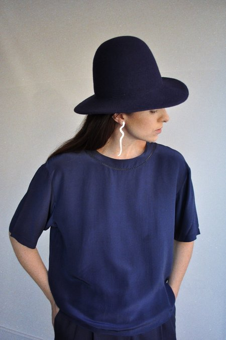 Brookes Boswell Benning Hat - Navy