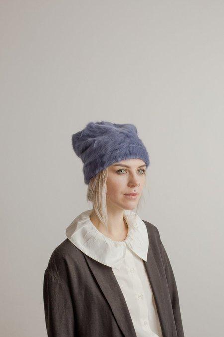 Claudia Schulz Lee Angora Toque - Blue