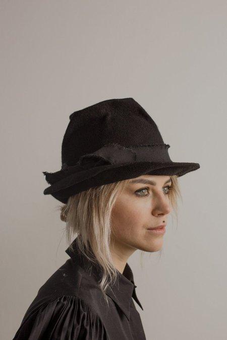 Claudia Schulz Lotte Fedora - Charcoal