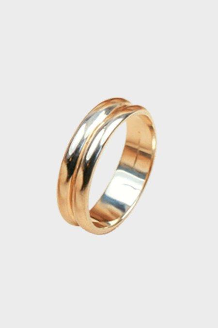 Elisha Marie Wilds Double Ring - Gold