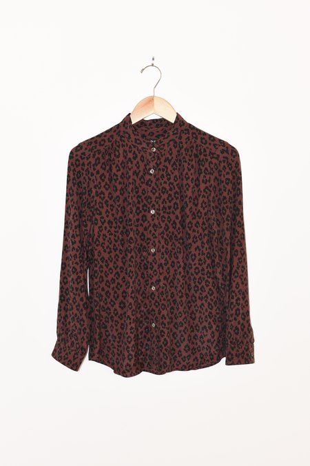 A.P.C. Alice Blouse - Maroon