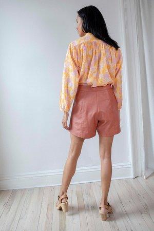 No.6 Annika Pleated Short