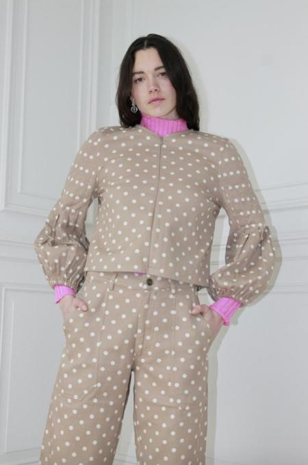Ajaie Alaie bon bon blouse - sugar cubes