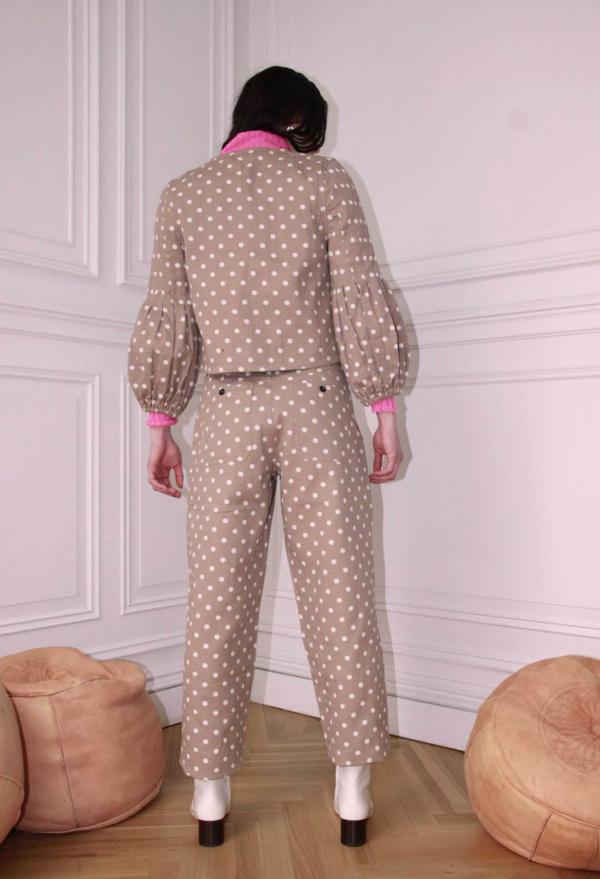 Ajaie Alaie eloise pants - sugar cubes