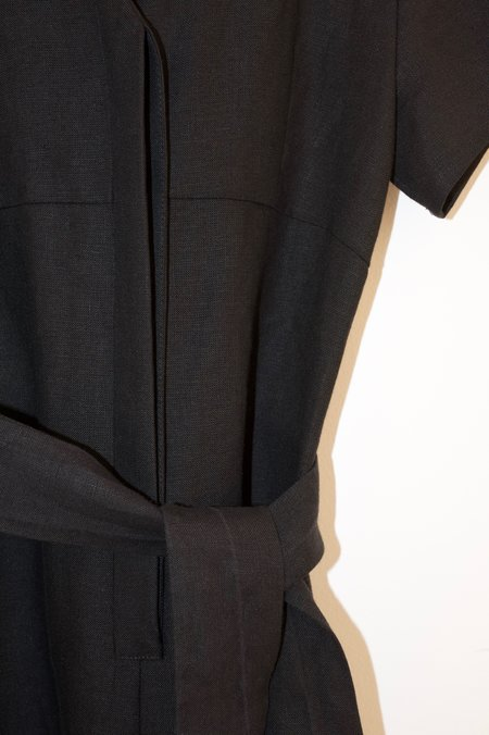 No.6 Miriam V Neck Jumpsuit - Black