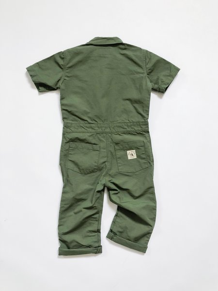 Kids Hey Gang Ripstop Coveralls - Army