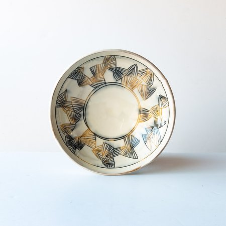 Ariane Boudreault-Lambert Large Mishima Presentation Bowl - Black/Gold